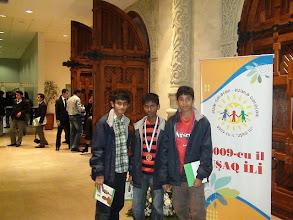Photo: IJSO -2009 Azerbaijan Bronze Medalist