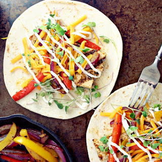 Grilled Chipotle + Lime Tofu Fajitas