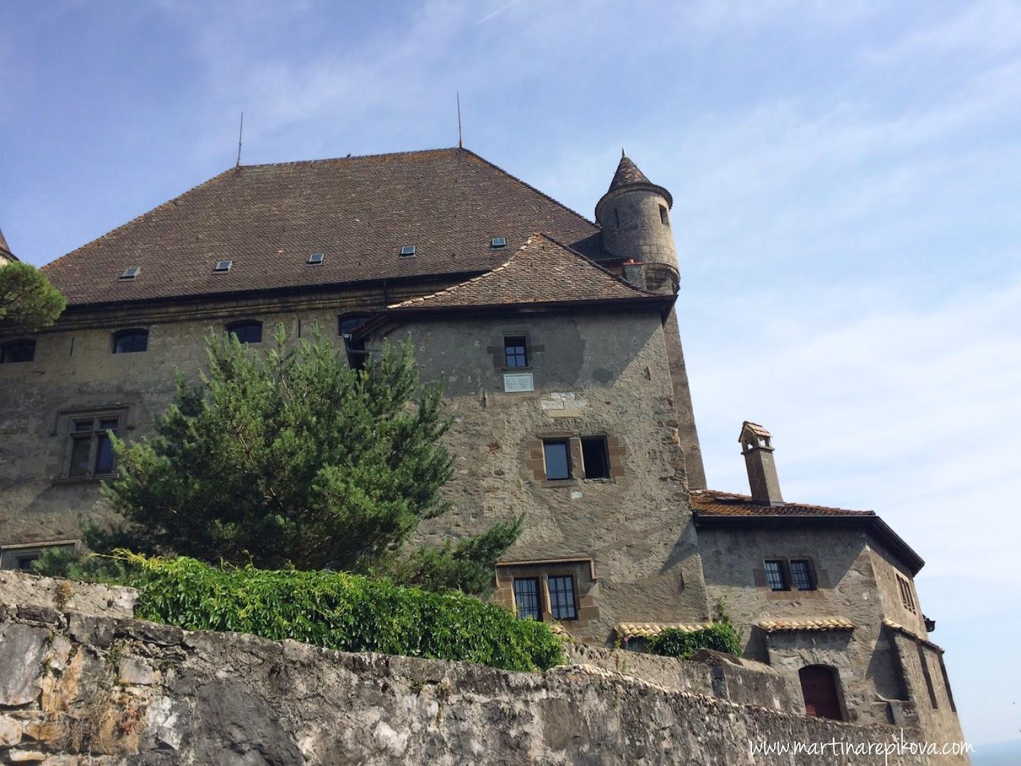 Hrad, Yvoire, Francúzsko