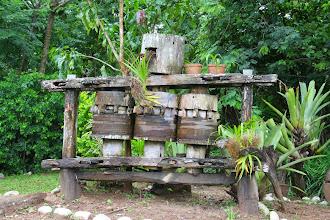Photo: Old sugar cane press