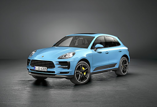 Design changes make the Macan look wider and more sporty. Picture: PORSCHE