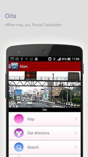 Oita Map offline