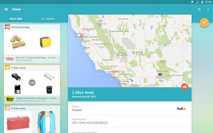 Slice: Package Tracker Screenshot 2