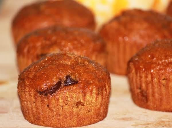 Dark Chocolate Pumpkin Spice Muffins Recipe