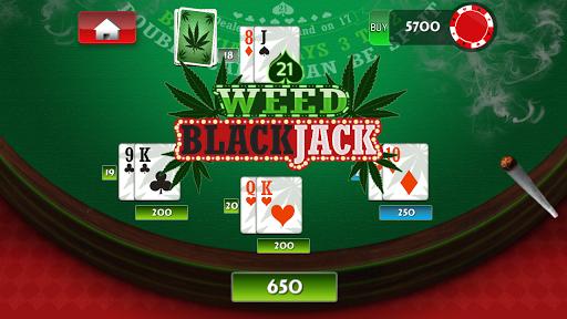 Weed BlackJack 21 Ganja Casino