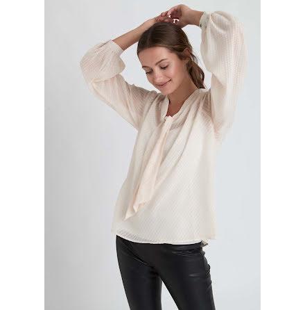 Dry Lake Bisse blouse creme white jaquard
