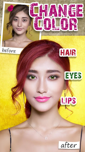 Beauty Makeup Selfie Camera MakeOver Photo Editor  screenshots 2