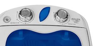 Masina de spalat rufe portabila ADLER AD 8051, 580 wati, alb