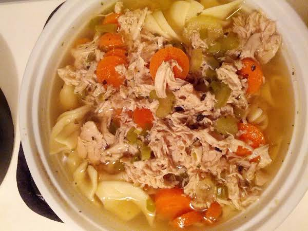 Ingie's Homemade Chix Noodle Soup Recipe