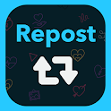 Repost it! Save and Repost for Instagram icon