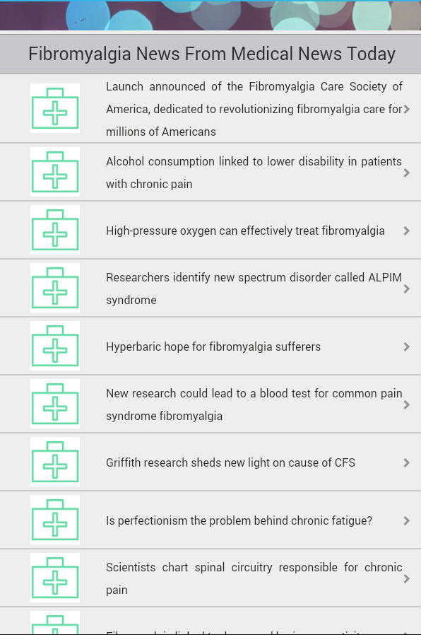 Fibromyalgia- screenshot