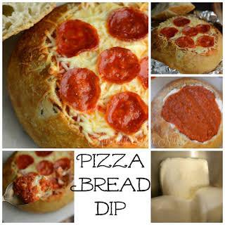 Baked Bread Bowl Dips Recipes.