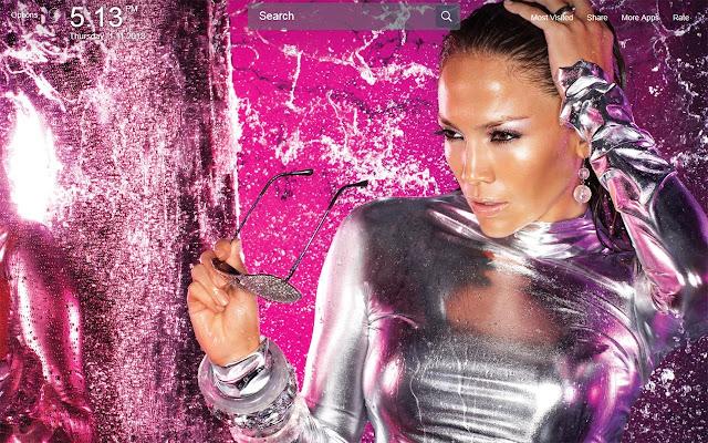 Jennifer Lopez Wallpapers Theme New Tab