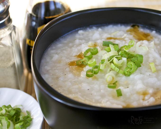 Chicken Rice Porridge (Chicken Congee) Recipe