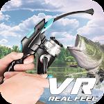 VR Real Feel Fishing Icon