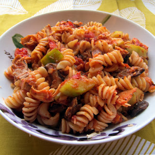 Chicken Mushrooms Zucchini Tomato Pasta Recipes