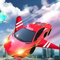 Flying Sports Car 2019 : Free Game icon