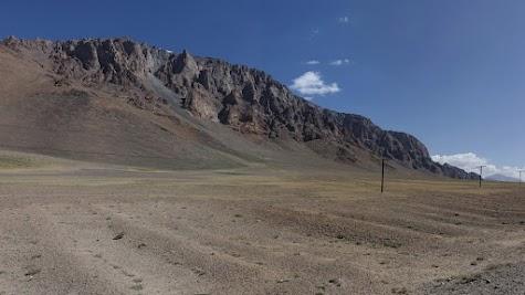 Hochgebirgswüste des Pamir kurz hinter Alichur.