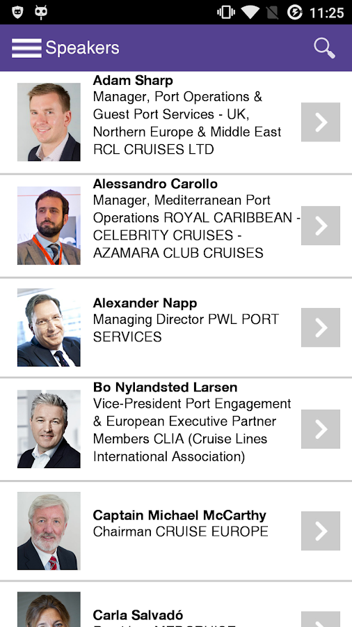 International Cruise Summit 15- screenshot