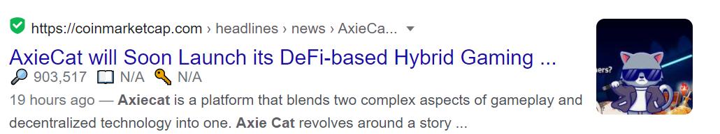 AxieCat