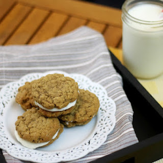 Oatmeal Cookie Sandwiches