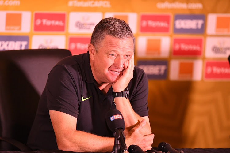 Kaizer Chiefs coach Gavin Hunt after the Caf Champions League, Group C match against Petro de Luanda at FNB Stadium on March 6, 2021.