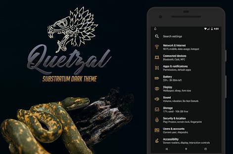 [Substratum] Quetzal | Dark - náhled