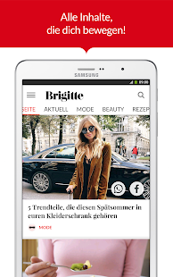 BRIGITTE - Mode, Liebe, Beauty- screenshot thumbnail