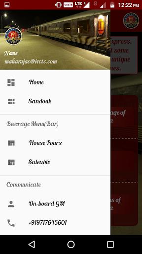 IRCTC Maharajas screenshot 3