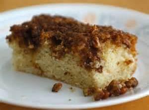 Moist Pecan Coffee Cake