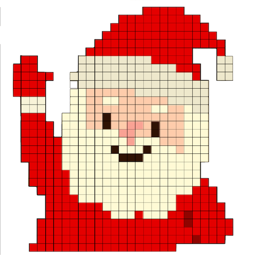 Christmas Sandbox Number Coloring- Color By Number Icon