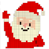 Christmas Sandbox Number Coloring- Color By Number