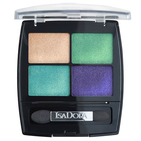 IsaDora Eye Shadow Quartet 16 Palm Beach