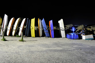Photo: Dominos - Light painting by Christopher Hibbert, french photographer and light painter. Further information: http://www.christopher-hibbert.com