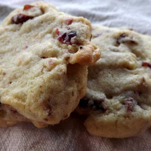 Soft and Chewy Cranberry Walnut Cookies