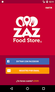 ZAZ Food Store app- screenshot thumbnail