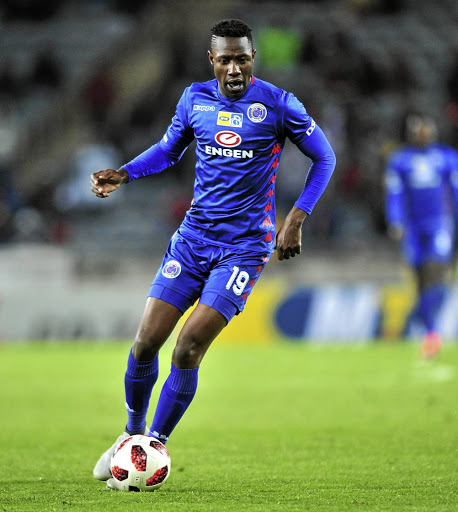 Evans Rusike of SuperSport United is the current PSL top scorer with three goals.