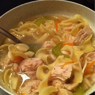 Jewish Penicillin Chicken Soup.