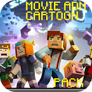 Movie and Cartoon pack for MCPE
