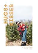 Hugs & Kisses - Christmas Card item
