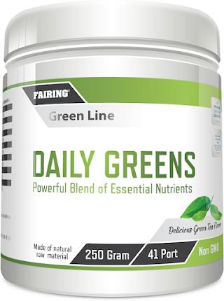 Fairing Daily Greens