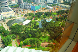 Photo: KLCC park in front of the Petronas twin towers