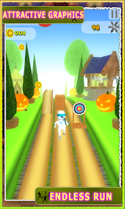 Subway Ninja Assassin Run 3d screenshot 2