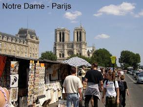 Photo: Notre Dame, Paris.