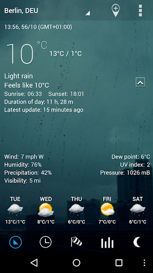 Sense Flip Clock & Weather Pro- screenshot thumbnail