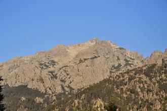 Photo: masív Monte d´Oro, fotené z kepmu