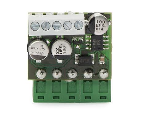 Konverterkort 24 VAC/DC till 12 VDC, 50 mA max.