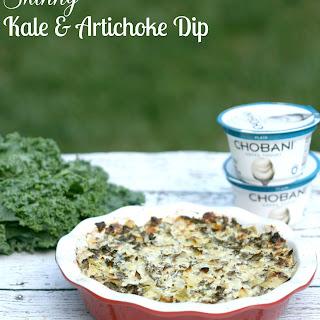 Skinny Kale & Artichoke Dip