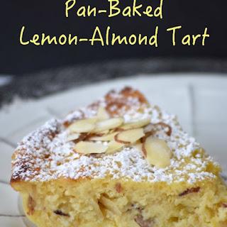 Pan-Baked Lemon-Almond Tart.