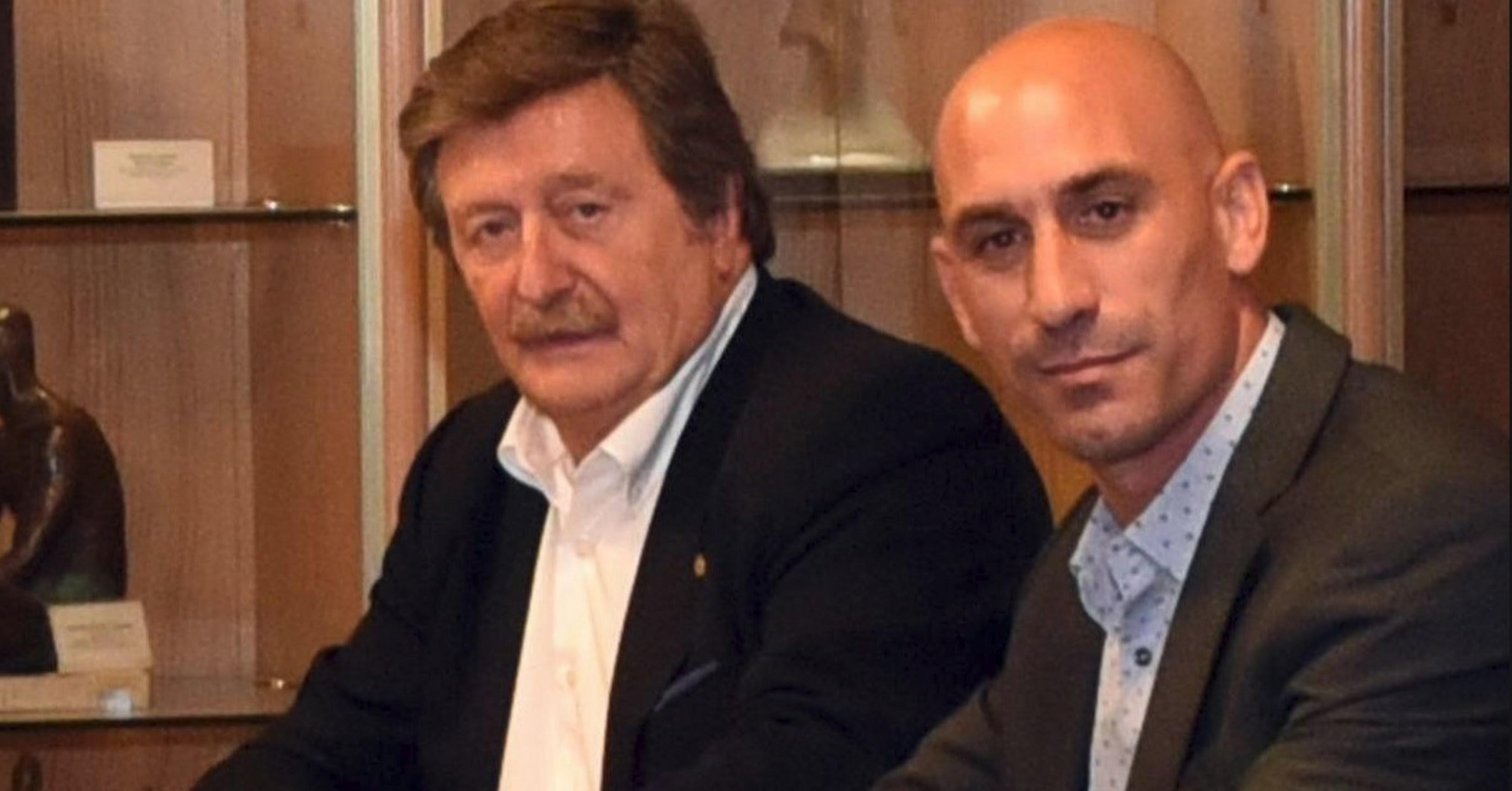 Larrea y Rubiales se disputan la presidencia.
